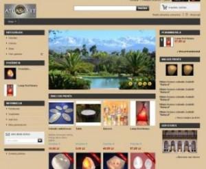 internetines parduotuves kurimas atlasart